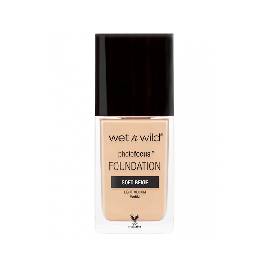 Wet n Wild Photo Focus Foundation Soft Beige