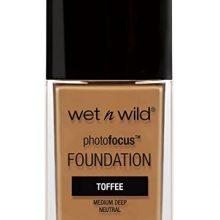 Wet n Wild photofocus foundation toffee pecan bottle