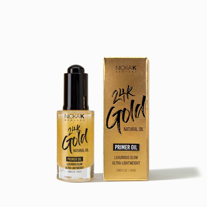 Nicka K 24k Gold Primer Oil