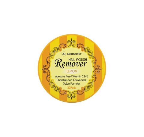 Nicka K Nail Polish Remover Lemon