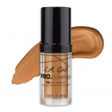 La Girl Pro-Coverage Foundation Warm Beige