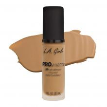 La Girl Pro Matte Foundation Medium Beige