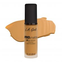 La Girl Pro Matte Foundation Soft Honey