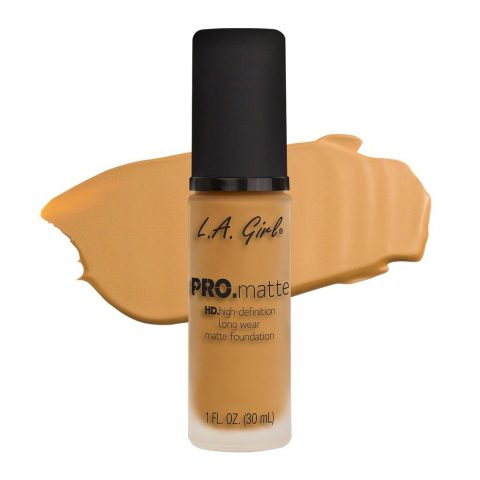 La Girl Pro Matte Foundation Soft Honey