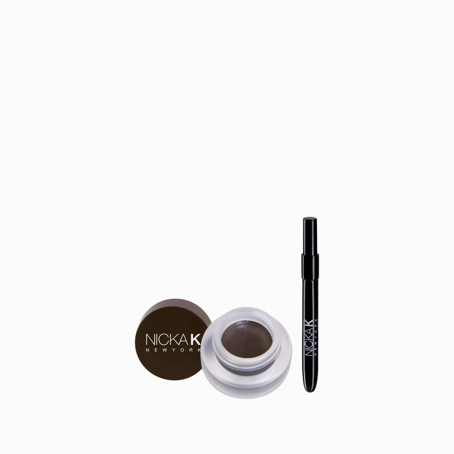 Nicka K Eyebrow Pomade Dark Brown