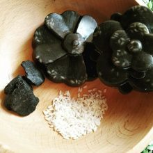 Hamandista Hand Made Charcoal Rice Soap