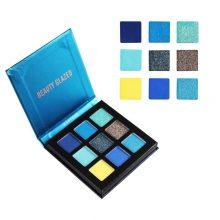 Beauty Glazed 9 Colors Mini Eyeshadow – Neptune