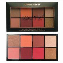 Technic jungle fever blush & highlight palette
