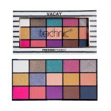 Technic Pressed Pigment Eyeshadow Palette – Vacay